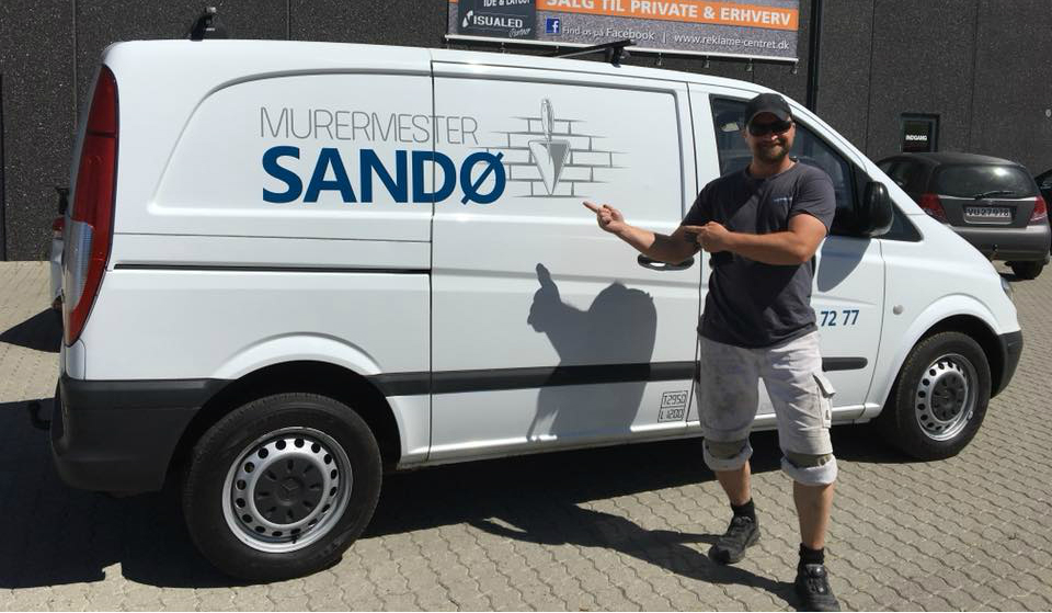 Murermester Sandø - Murer Slagelse