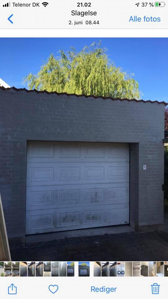 Renovering af garage i Slagelse