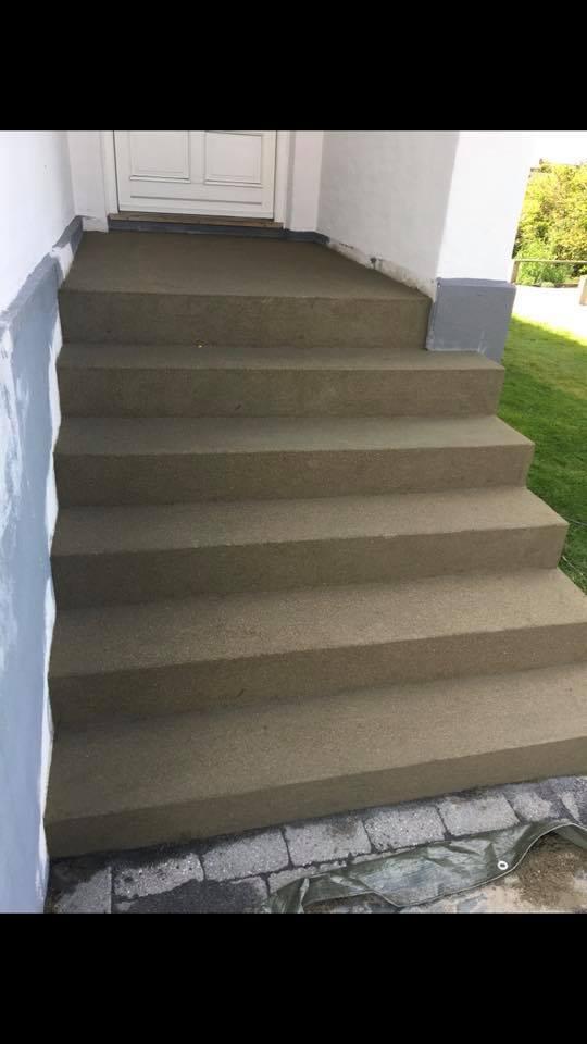 Renovering af trappe i Slagelse